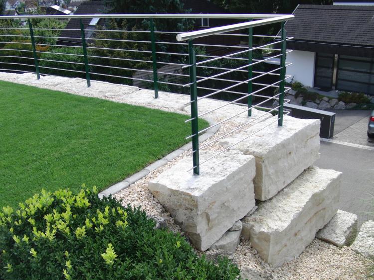 natursteinmauern | daniel müller, holzhauerei, Garten seite